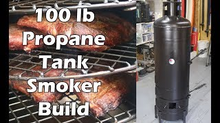 How to Build a Propane Tank Smoker