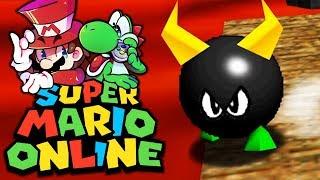 Bullies in der Lava!   09   Super Mario 64 Online