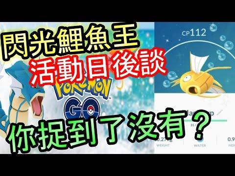 【ポケモンGO攻略動画】你捉到未?閃光鯉魚王活動 事後談  ! 《Pokemon GO 香港中文攻略》神奇寶貝(精靈寶可夢)  – 長さ: 2:47。