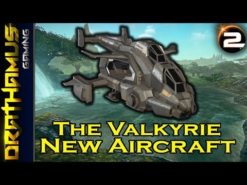 The Valkyrie - New Fast Attack Craft! Upcoming PlanetSide 2 Air Vehicle