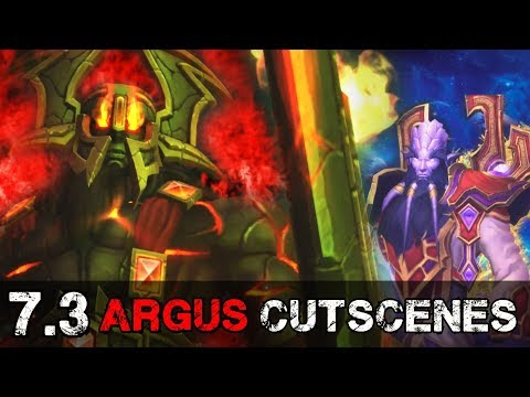 New Patch 7.3 Argus Cutscenes Explained - World of Warcraft Legion