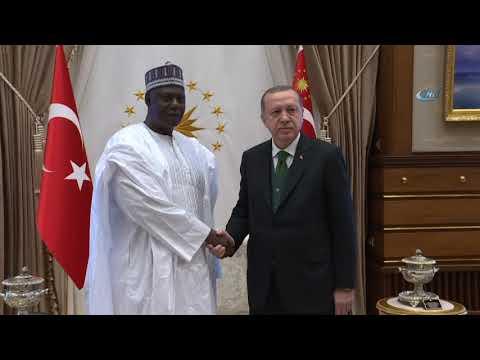 Cumhurbaşkanı Erdoğan, Nijer Ulusal Meclis Başkanını Kabul Etti