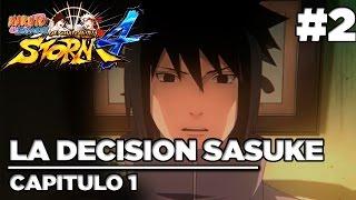 La Decision de Sasuke #2 | Naruto Shippudent Ultimate Ninja Storm 4 | Español Latino