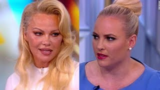 Spoiled Brat Meghan McCain Schooled By Pamela Anderson On The View