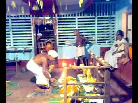 AGELU NAIVEDYA (ಅಗೆಲ್ -- ನೈವೇದ್ಯ ) SEVE -at Boloor Garodi Temple of Tulunadu 2