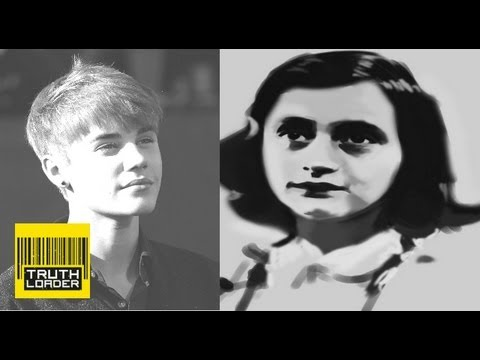 Anne Frank, Justin Bieber and your comments - Truthloader