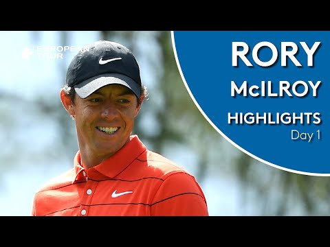 Rory McIlroy Highlights | Round 1 | 2019 Omega European Masters