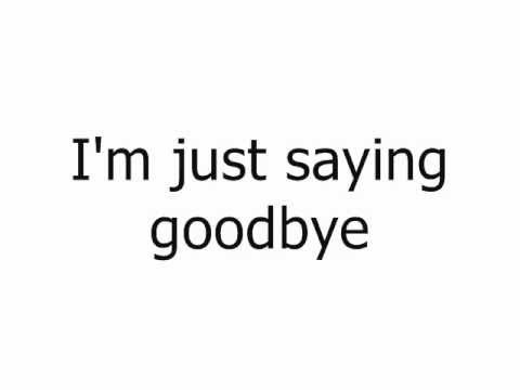 Hedley - Goodbye
