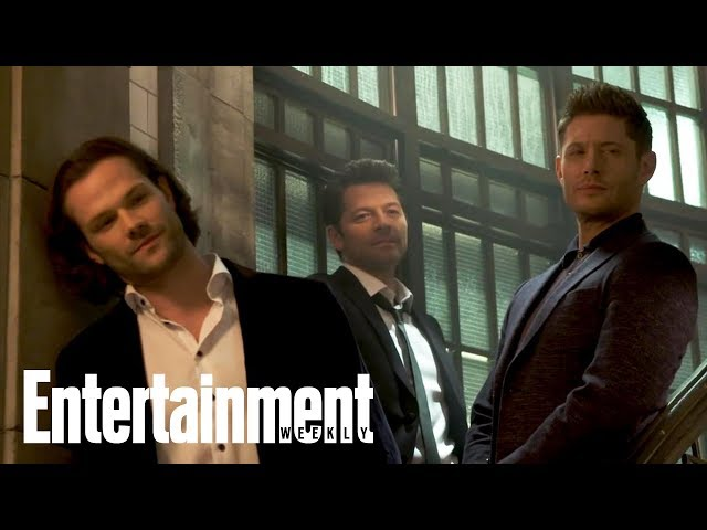 вSupernaturalв The Cast Comes Together For Their 300th Episode  Cover Shoot  Entertainment Weekly