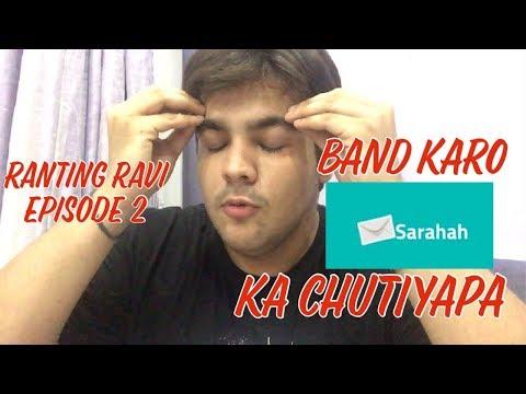 RANTING RAVI EPISODE 2 : Band karo SARAHAH ka chutiyapa | Ashish Chanchlani