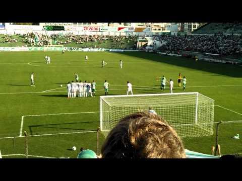 Juventude 3 x 1 Cianorte - 1º Gol Alex Telles Série D 2012