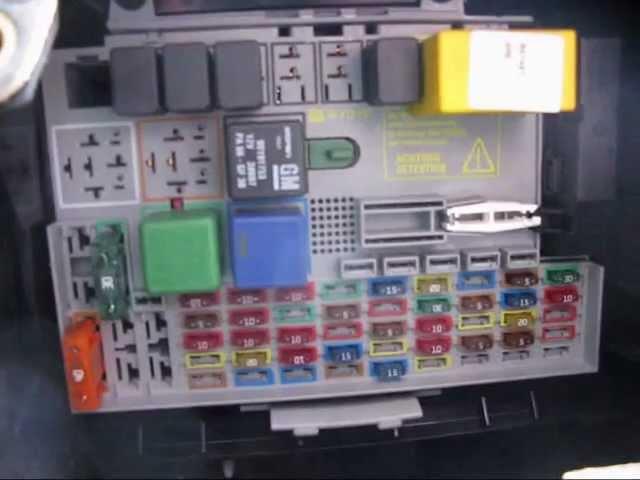 MKIV Astra 1.7 DTi Estate fuse box location - YouTube