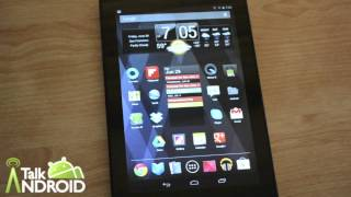 Jelly Bean Overview on the Nexus 7