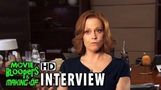 Chappie (2015) Behind The Scenes Movie Interview - Sigourney Weaver (Michelle)