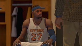 NBA 2K15 PS4 My Career - Concussion Cheese