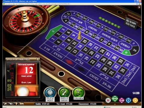 Unibet Casino roulette system win FAST AND EASY MONEY / SNEL EN MAKKELIJK GELD !!! 100 euro bonus