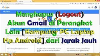 download lagu How To Delete Logout Gmail Account In Other Devices gratis