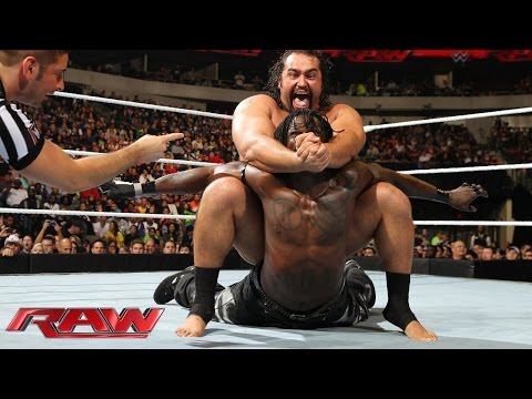 R-Truth vs. Rusev: Raw, January 19, 2015