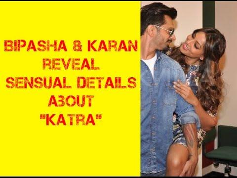 Bipasha Basu and Karan Grover reveal sensual details of their song, Katra!