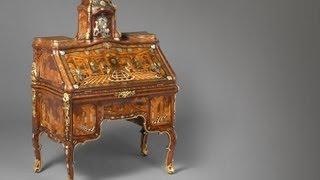 Abraham Roentgen's Writing Desk