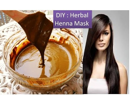 DIY : Henna Hair mask with Amla juice [ Deep conditioning hair mask for soft velvety hair]