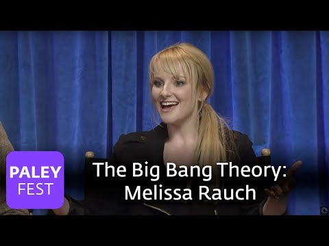 The Big Bang Theory- Melissa Rauch on When she had to Wear Smurf Makeup