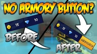 NO ARMORY BUTTON GLITCH EXPLAINED - WHY U DONT HAVE NO ARMORY BUTTON!!! [IN DEPTH]
