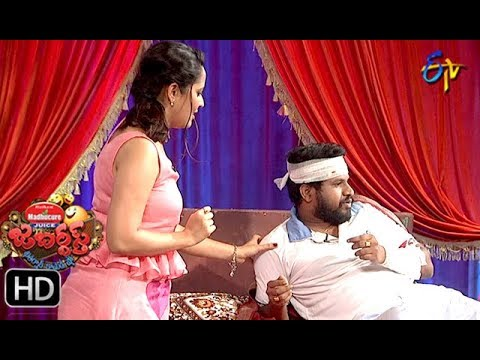 Hyper Aadi, Raising Raju Performance | Jabardasth | 19th July 2018 | ETV  Telugu thumbnail