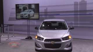 2013 LA Auto Show - GM Cruze and Sonic Presentation