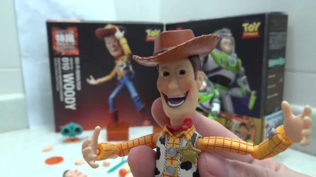 Revoltech Woody e Buzz Toy Story Review BR - YouTube