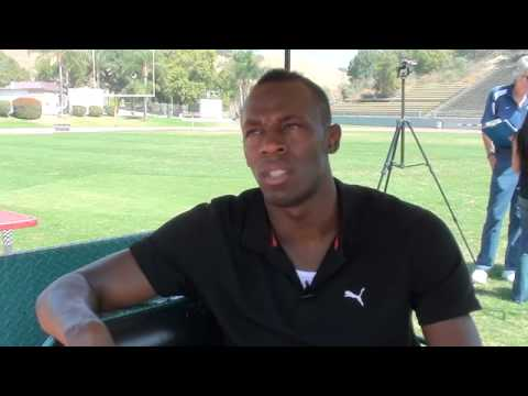Usain Bolt World Record Holder on becoming a legend &amp; staying focused
