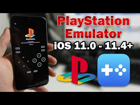 How To Play PlayStation Games on iOS 11.0 - 11.4 (No Jailbreak & No Computer) iPhone. iPad & iPod