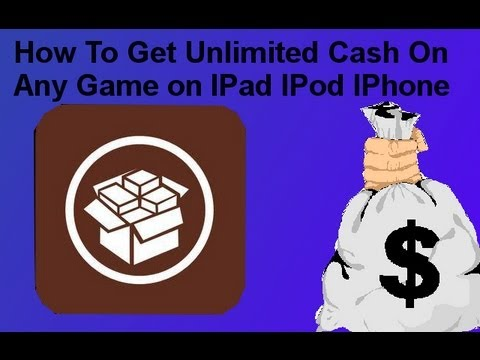 How to get unlimited Cash on any Game on a jailbroken IPod Touch