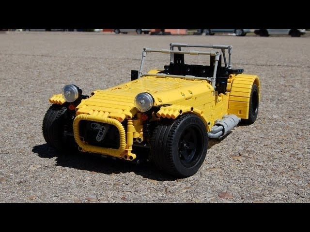 LEGO Caterham Seven, FULL REMOTE CONTROLLED! by Sheepo ...