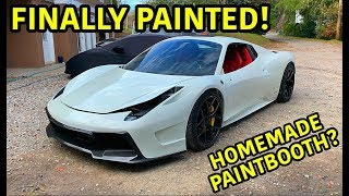 Rebuilding A Wrecked Ferrari 458 Spider Part 12