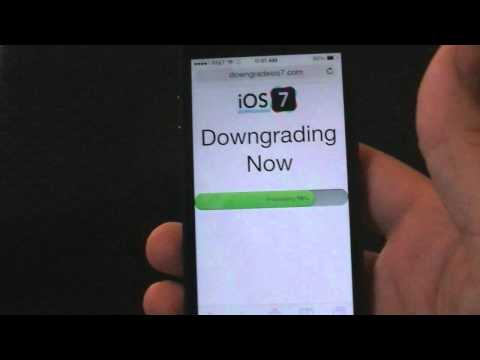 How To Downgrade From iOS 7 to iOS 6 or iOS 5