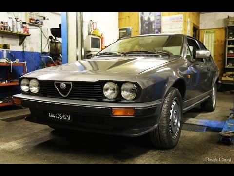 Alfa Romeo Alfetta GTV6 2.5 - Inserito da Davide Cironi il 25 gennaio 2016 durata 16 minuti e 30 secondi - Ho suonato il violino di Arese per due settimane giorno e notte. Cerco di farvi capire perch� adesso ho BISOGNO di rimettermi un�Alfa d�epoca in garage a tutti i costi.