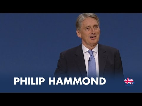 Philip Hammond: Speech to Conservative Party Conference 2014