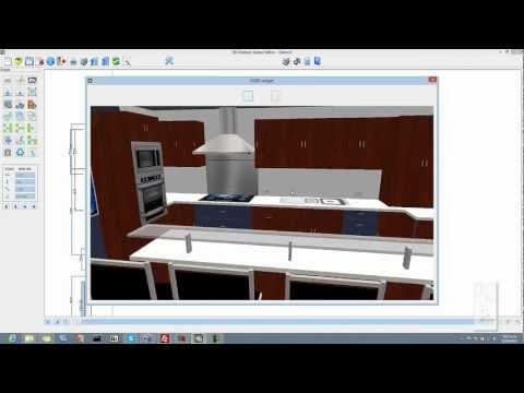 3D kitchen design software (3dkitchen)