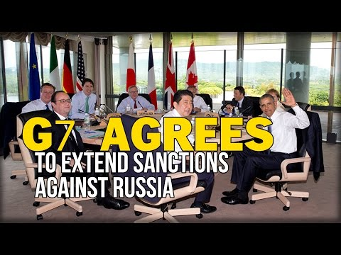 G7 AGREES TO EXTEND SANCTIONS AGAINST RUSSIA
