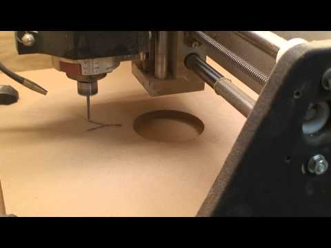 DIY CNC Cutting Tutorial Video #3 - Probotix Fireball V90