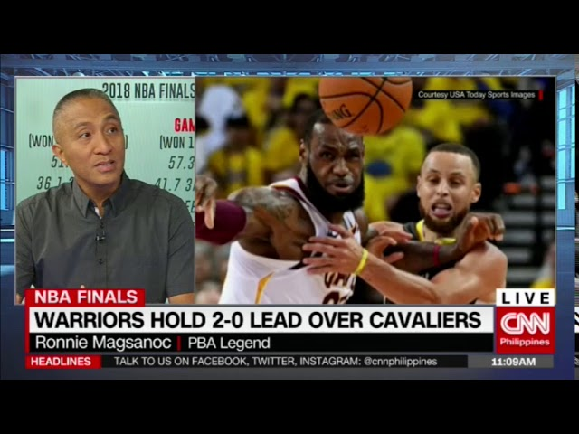 Warriors hold 2-0 lead over Cavaliers