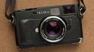 Konica Hexar RF 35mm Film Camera Review