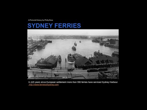Philip Rose - Ferries of the Sydney Region