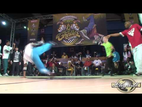 POCKEMON vs PHASE T (CHELLES BATTLE PRO 2010) WWW.BBOYWORLD.COM Video