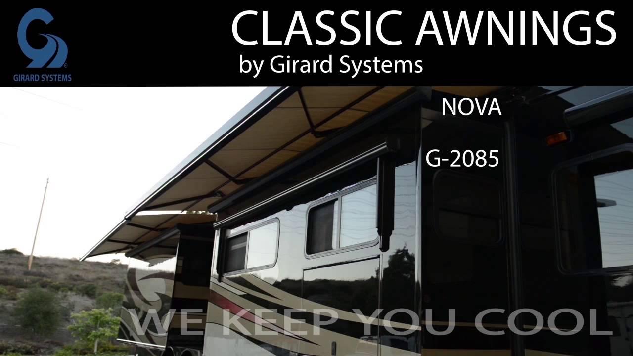 RV Awnings by Girard Systems - Classic NOVA & G2085 RV ...