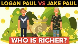 Logan Paul vs Jake Paul - Who Is Richer and More Popular?