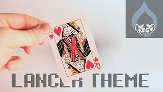 DELTARUNE - lancer overworld theme using a deck of cards 🃏