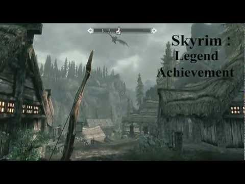 "Skyrim: Dawnguard ""Legend"" achievement"