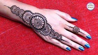 Mehndi Mandala Designs : Most beautiful easy simple henna mandala gol tikki mehndi designs